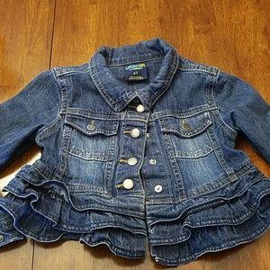🍁🍁cool weather blue jean jacket to keep em warm!